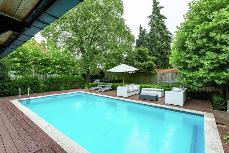 Villas Nederland | Noord-Brabant | Villa te huur in Helmond met zwembad  met wifi 14 personen