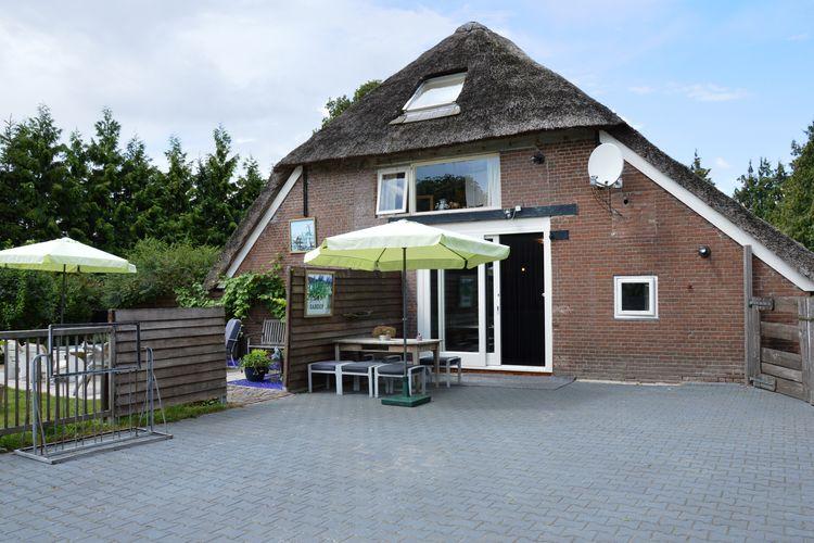 Nederland | Drenthe | Boerderij te huur in Wapse   met wifi 6 personen