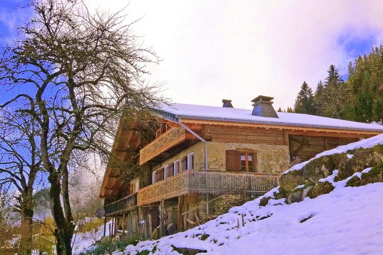 Chatel Vakantiewoningen te huur Chalet uit 1789 nabij express stoeltjeslift tot het skigebied