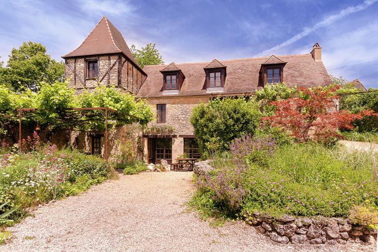 Vakantiehuizen Frankrijk | Dordogne | Vakantiehuis te huur in Les-Eyzies-De-Tayac-Sireuil met zwembad  met wifi 10 personen