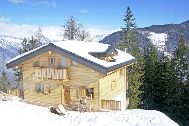 Vakantiehuizen Zwitserland | Jura | Chalet te huur in La-Tzoumaz   met wifi 11 personen