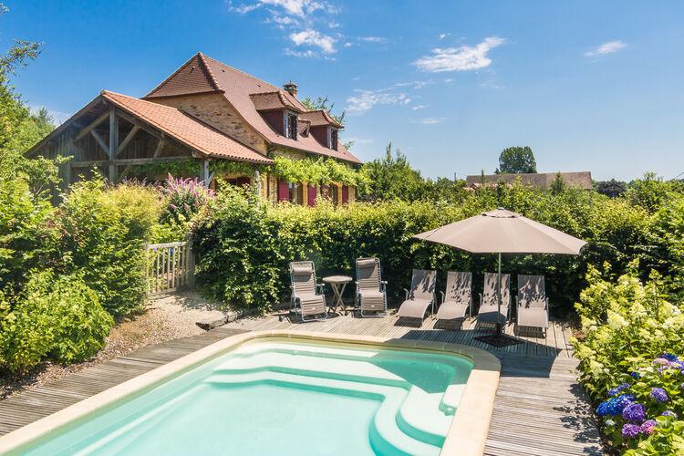 Frankrijk | Dordogne | Villa te huur in Saint-Medard-Dexcideuil met zwembad  met wifi 8 personen