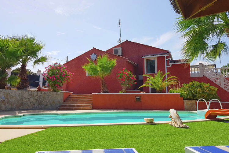 Vakantiehuis met zwembad met wifi  Roquebrune-sur-ArgensVilla la Palmeraie