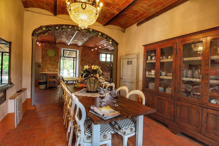 Villa Italië, Toscana, Castiglione D