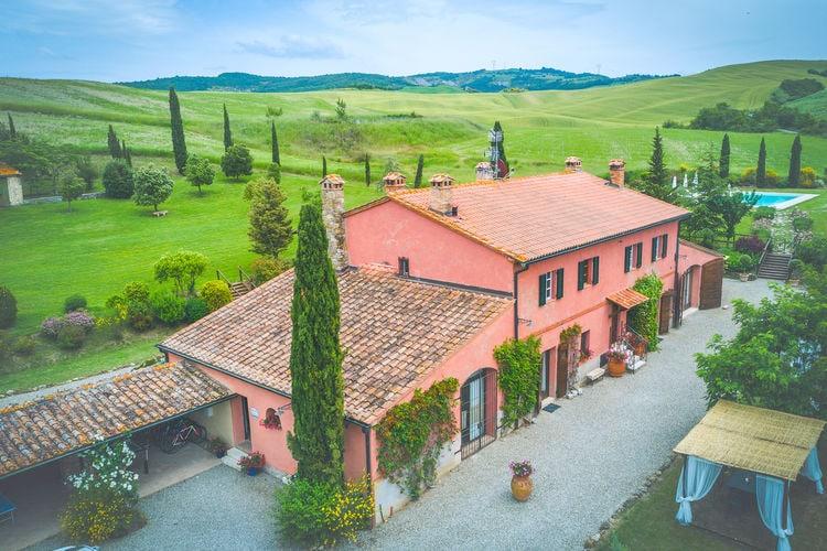 Vakantiehuizen Italie | Toscana | Villa te huur in Castiglione-Dorcia met zwembad  met wifi 15 personen