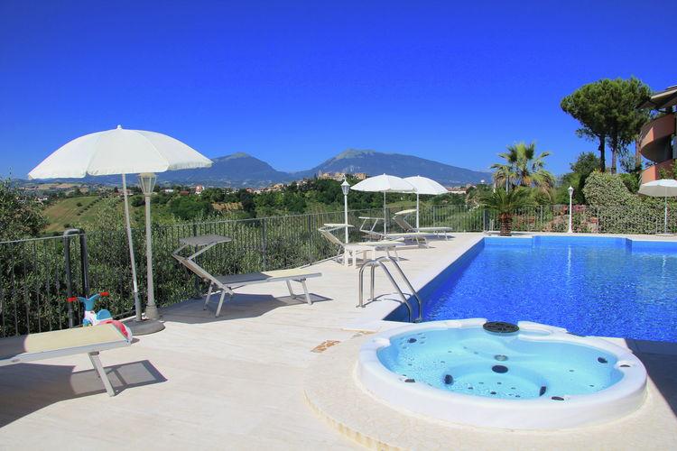 Vakantiehuizen Abruzzo te huur Sant'omero- IT-64027-02 met zwembad nabij Strand met wifi te huur