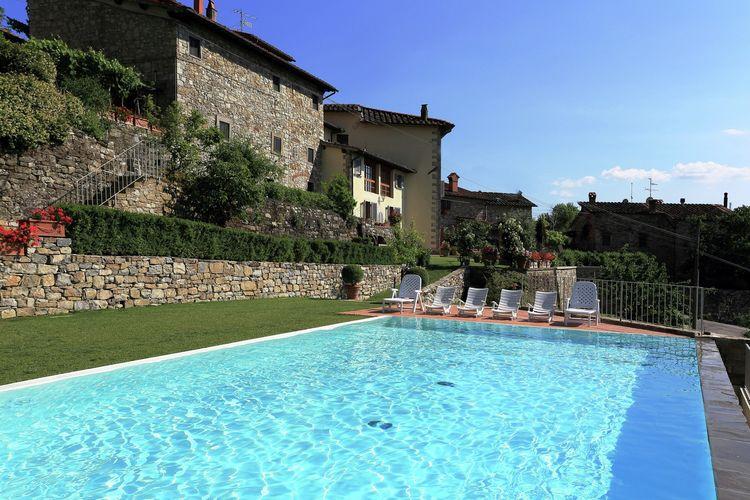 Voordelig Vakantiehuis Villa Buonamici Il salone