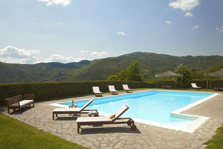 Italie | Toscana | Vakantiehuis te huur in Pontassieve met zwembad aan zee met wifi 8 personen