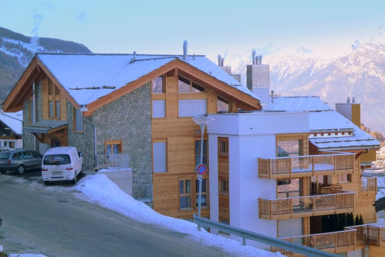 Ski Heaven - Apartment - Veysonnaz - Exterior - Winter