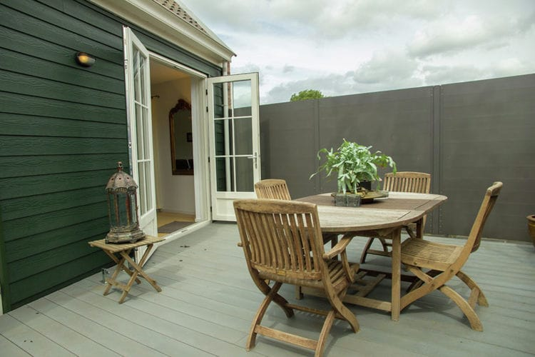 Holland | Zeeland | Holiday home De Eendracht | all year | TerraceBalcony