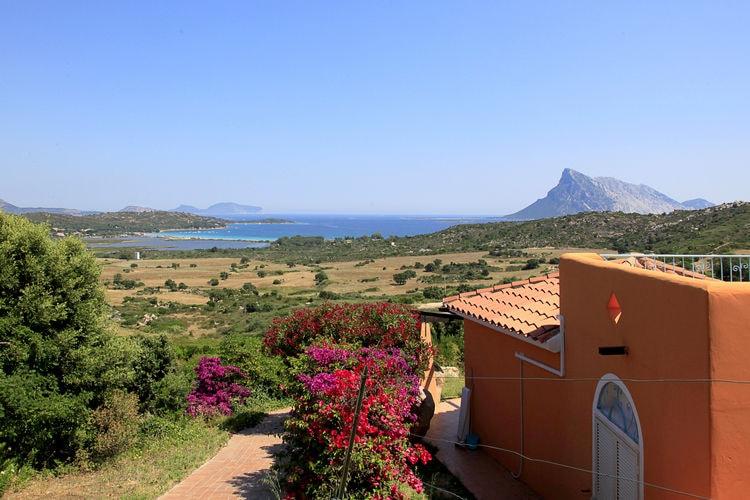 Sardegna Appartementen te huur Studio met zeezicht op mooi resort met faciliteiten niet ver van zee en strand