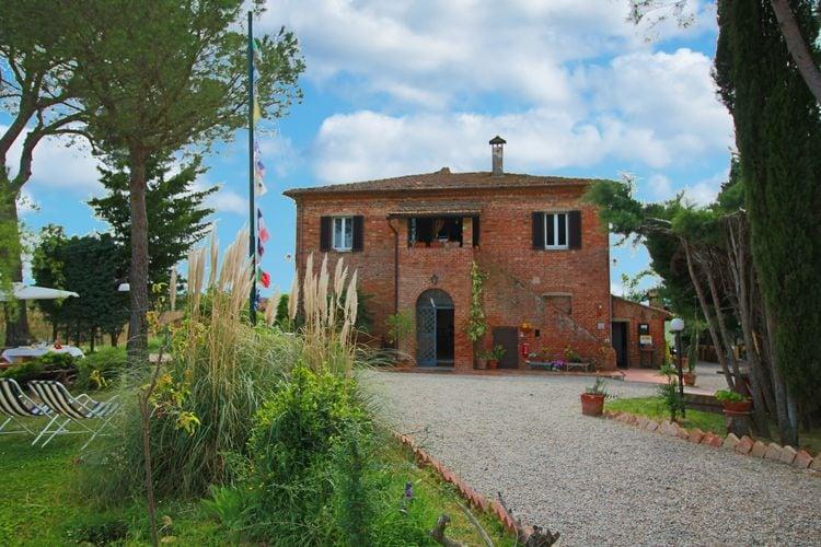 Montepulciano Vakantiewoningen te huur Biologische agriturismo met panoramisch uitzicht en zwembad