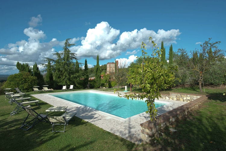 Vakantiehuizen Italie | Toscana | Villa te huur in Rapolano-Terme met zwembad  met wifi 13 personen