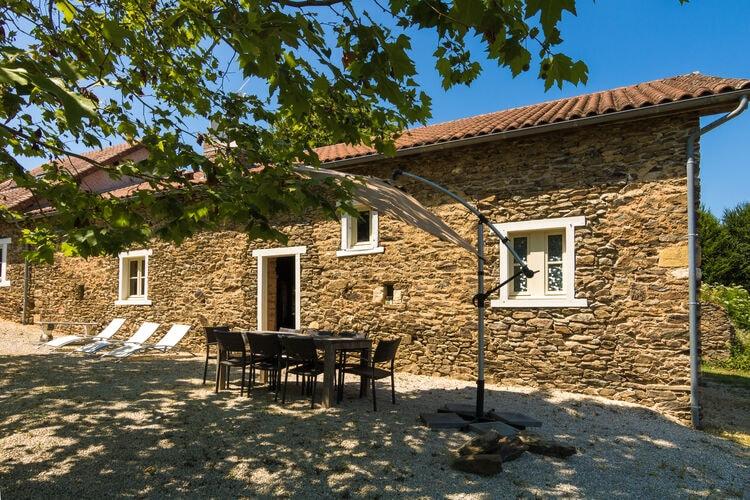 Vakantiehuis met zwembad met wifi  ChalaisLa Grande Maison