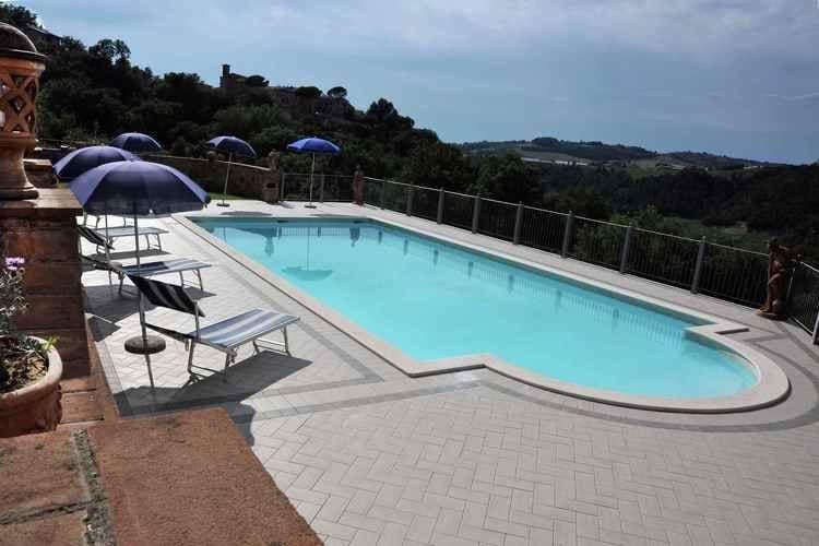 Woning Italie | Umbrie | Vakantiehuis te huur in Collazzone met zwembad   6 personen