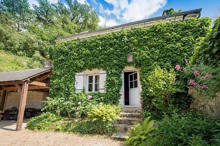 Frankrijk | Pays-de-la-loire | Vakantiehuis te huur in Gennes-Val-de-Loire   met wifi 4 personen