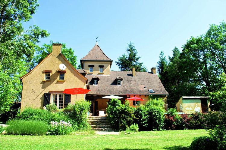 Villa met zwembad met wifi  DordogneMaison Les Bois 10P