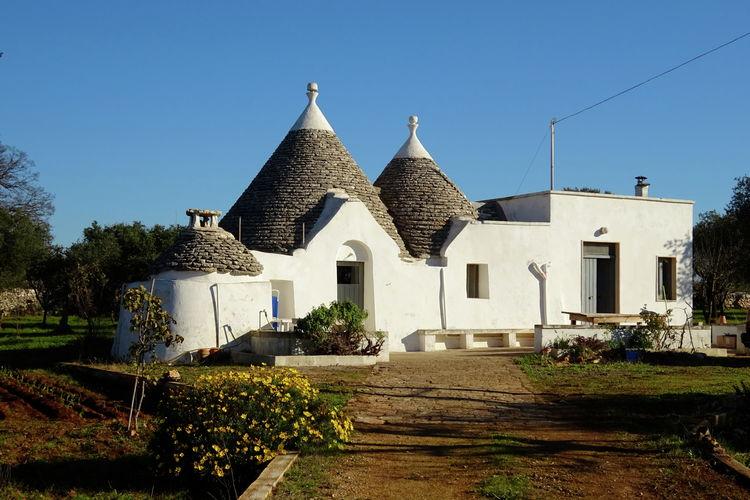 Putignano Vakantiewoningen te huur Vakantiehuis in trullo met ideale ligging voor excursies en stranden in Puglia