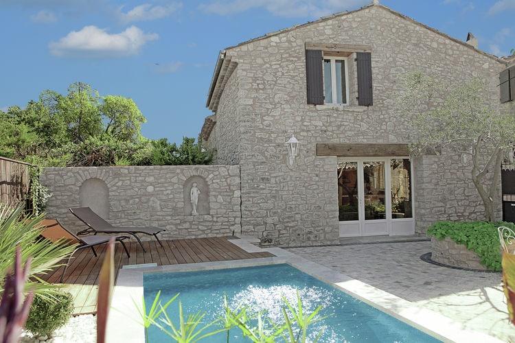 Frankrijk | Provence-alpes-cote-d-azur | Villa te huur in Aix-en-Provence met zwembad  met wifi 4 personen