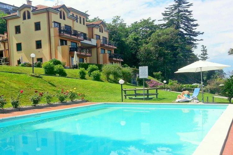 Stresa Vakantiewoningen te huur Mooi appartement met terras en een prachtig uitzicht op het meer