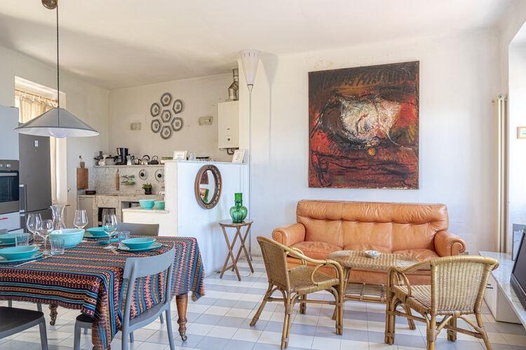 Vakantiehuizen Italie | Lig | Vakantiehuis te huur in Pugliola-Lerici   met wifi 2 personen