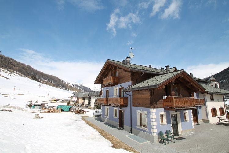 Appartement  met wifi  Livigno  Appartement op slechts 50 meter afstand van de skiliften