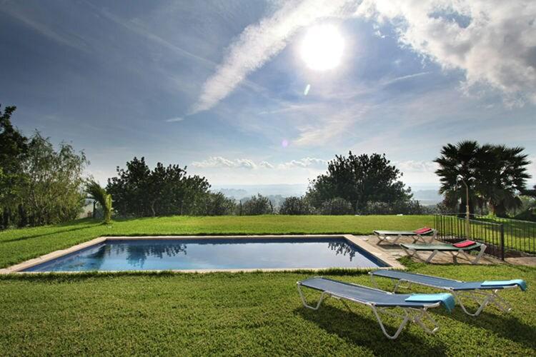Vakantiehuizen Spanje | Mallorca | Vakantiehuis te huur in Crestatx met zwembad  met wifi 6 personen
