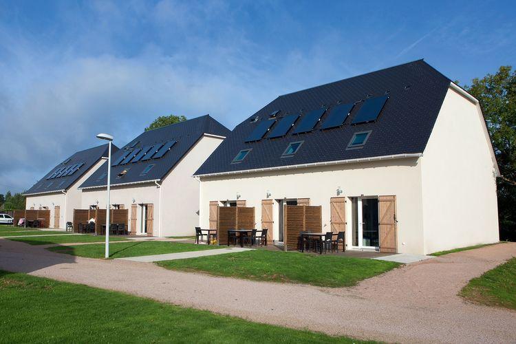 Frankrijk | Normandie | Vakantiehuis te huur in Auberville met zwembad  met wifi 6 personen
