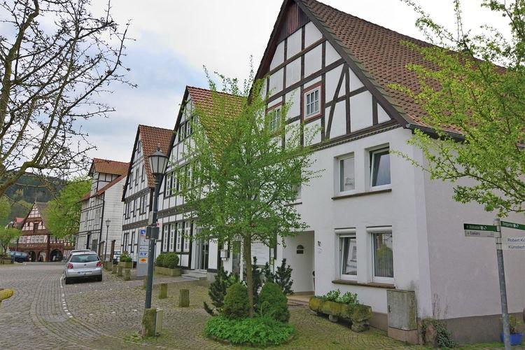 Schieder-Schwalenberg Vakantiewoningen te huur Comfortabel appartement met sauna in het historische centrum in het Weserbergland