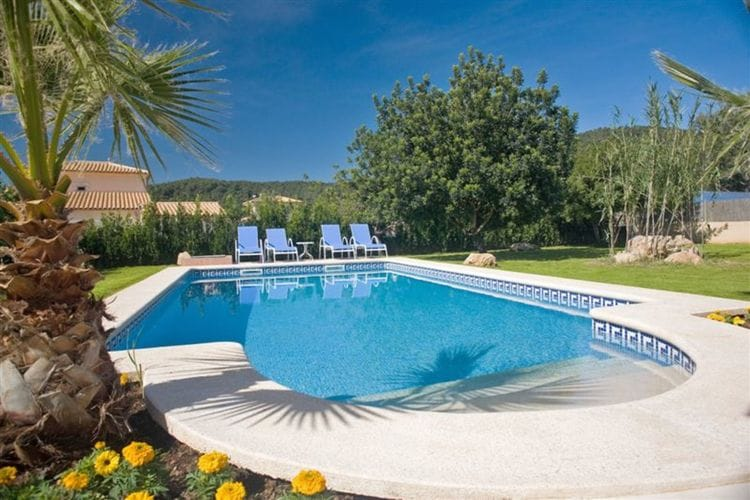 Vakantiehuizen Spanje | Mallorca | Villa te huur in Crestatx met zwembad  met wifi 10 personen