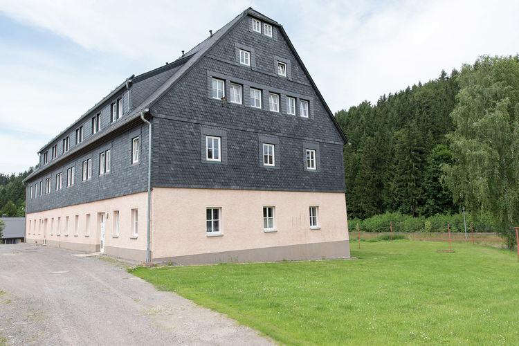 Appartement  met wifi  Neuhausen Ortsteil Rauschenbach de  Modern ingericht appartement met gebruik van tuin in het Ertsgebergte