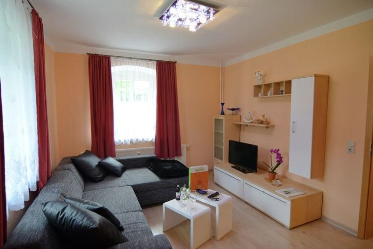 Duitsland | Saksen | Appartement te huur in Neuhausen-Ortsteil-Rauschenbach   met wifi 2 personen