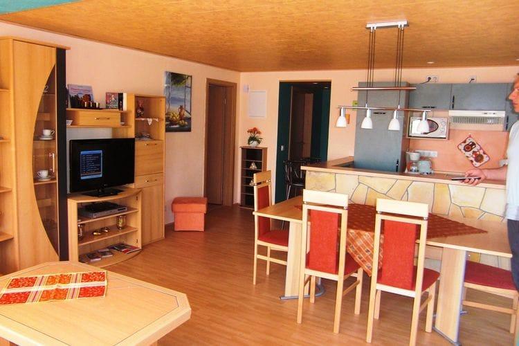 Vakantiehuizen Duitsland | Saksen | Appartement te huur in Lichtenhain   met wifi 10 personen