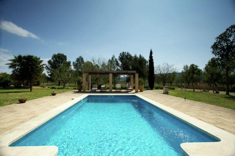 Vakantiehuizen Spanje | Mallorca | Vakantiehuis te huur in Santa-Maria-del-Cami met zwembad  met wifi 12 personen