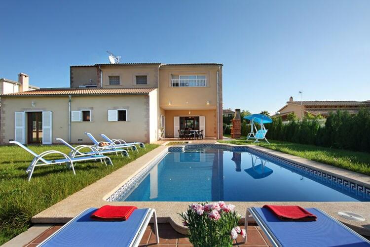 Vakantiehuizen Spanje | Mallorca | Villa te huur in Crestatx met zwembad  met wifi 8 personen