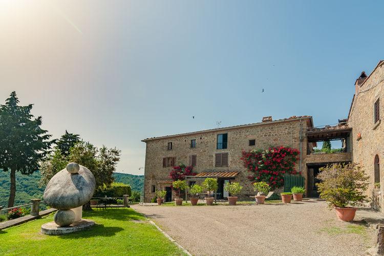 Civitella-in-val-di-Chiana Vakantiewoningen te huur Prachtige, authentieke Toscaanse borgo in de heuvels