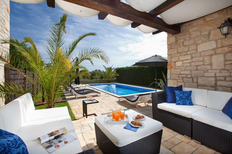 Villa Kroatië, Istrie, Porec Villa HR-52440-43