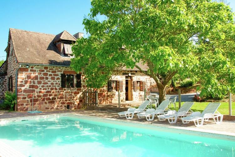 Vakantiehuis met zwembad met wifi  DordogneMaison Olivier 9P