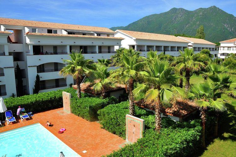 Corse Appartementen te huur Comfortabel appartement in residence met zwembad, direct aan het strand gelegen