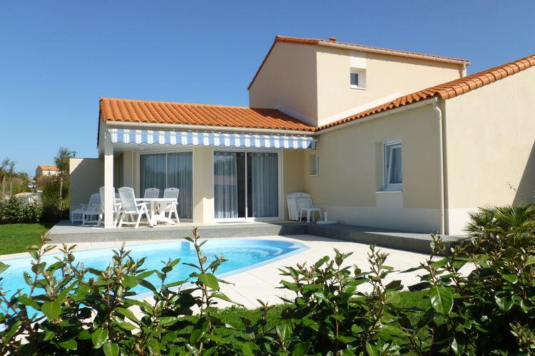 Villa met zwembad met wifi  Cote AtlantiqueLes Jardins des Sables d