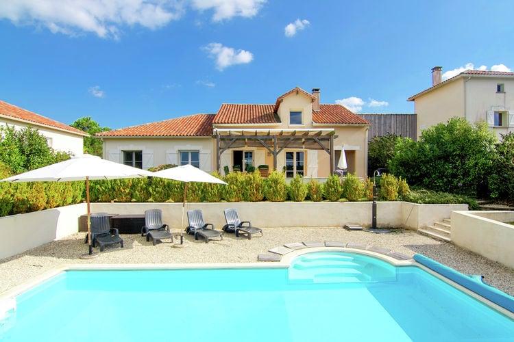 Frankrijk | Dordogne | Villa te huur in Ecuras-Rouzede met zwembad  met wifi 6 personen