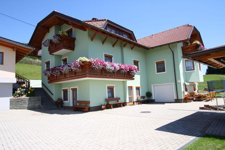 Vakantiehuizen Oostenrijk   Kaernten   Appartement te huur in Liebenfels met zwembad  met wifi 4 personen