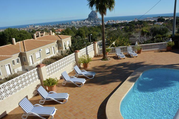 Villa Spanje, Costa Blanca, Calpe Villa ES-03710-50