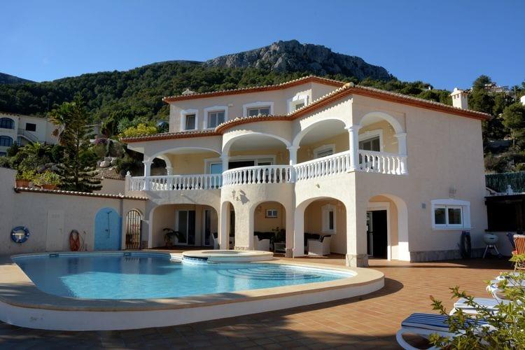 Villa met zwembad met wifi  CalpeVilla Oltamar Vista