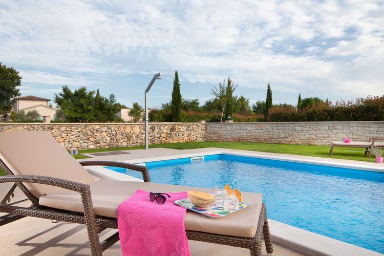 Villa Kroatië, Istrie, Radetici Villa HR-52444-07