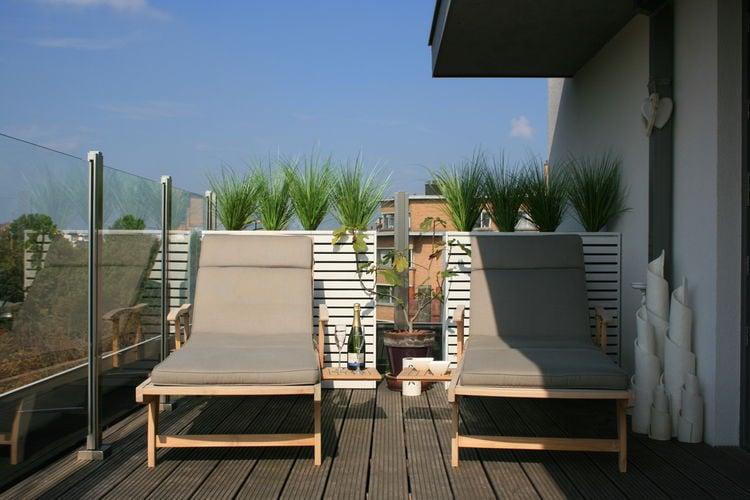 Appartement  met wifi  Gent  Zeer luxueus penthouse met sfeervolle inrichting en wifi in het centrum van Gent