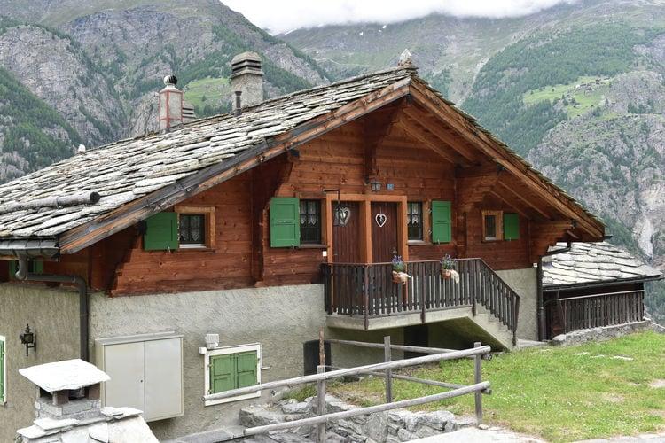 Vakantiehuizen Zwitserland | Jura | Appartement te huur in St-Niklaus-Grachen   met wifi 4 personen