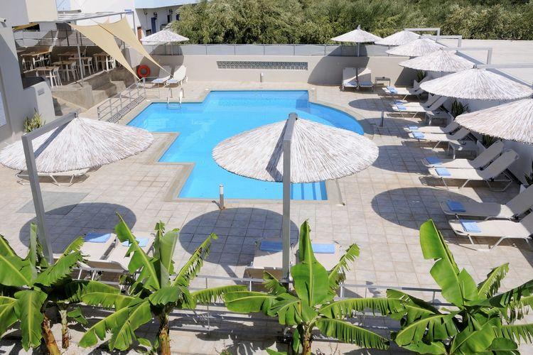 Nieuwe appartementen, centrum van Elounda, gemeensch.groot zwembad, NO kust