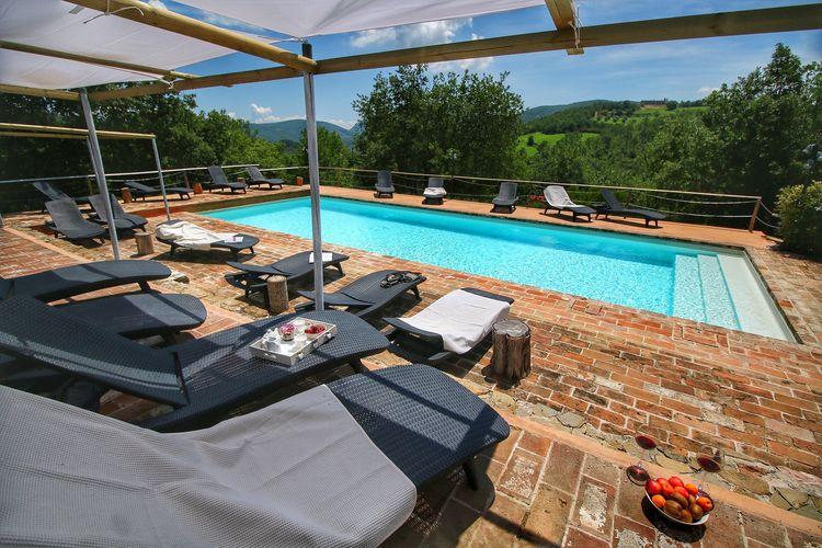 Vakantiehuizen Italie | Umbrie | Boerderij te huur in Umbertide met zwembad  met wifi 4 personen