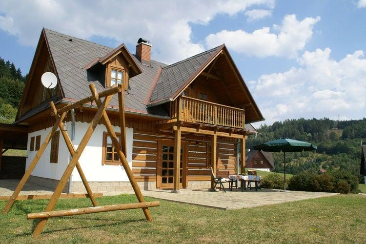 Tsjechie Vakantiewoningen te huur Gezellig en comfortabel vakantiehuis voor zomer en winter in het rustieke Stupna